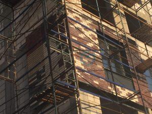 Клинкерная плитка на навесных фасадах