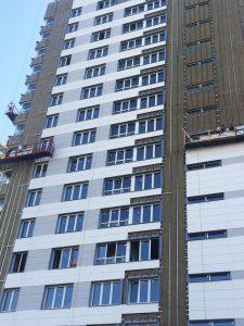 Навесные фасадные системы их преимущество